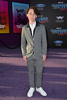 Wyatt Oleff at the world premiere for &quot;Guardians of the Galaxy Vol. 2&quot; at the Dolby Theatre, Hollywood. <br /> Los Angeles, USA 19 April  2017<br /> Picture: Paul Smith/Featureflash/SilverHub 0208 004 5359 sales@silverhubmedia.com