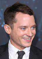 HOLLYWOOD, LOS ANGELES, CA, USA - DECEMBER 09: Elijah Wood  arrives at the World Premiere Of New Line Cinema, MGM Pictures And Warner Bros. Pictures' 'The Hobbit: The Battle of the Five Armies' held at the Dolby Theatre on December 9, 2014 in Hollywood, Los Angeles, California, United States. (Photo by Xavier Collin/Celebrity Monitor)