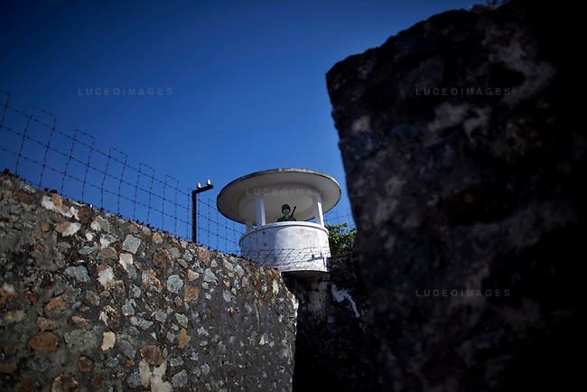 A mannequin of a French soldier stands guard at  Phu Hai Prison on Con Son Island, part of the Con Dao Islands.The 16 mountainous islands and islets are situated about 143 miles southeast of Ho Chi Minh City in Vietnam, in the South China Sea. Phu Hai Prison, which was built in 1862, is the largest and oldest prison on Con Son Island.  Eleven prisons were built on the island and are now open for tours.  Photo taken Thursday, May 5, 2010...Kevin German / LUCEO For the New York Times