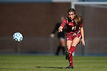 03 November 2013: Boston College's Madison Meehan. The University of North Carolina Tar Heels hosted the Boston College Eagles at Fetzer Field in Chapel Hill, NC in a 2013 NCAA Division I Women's Soccer match and the quarterfinals of the Atlantic Coast Conference tournament. North Carolina won the game 1-0.
