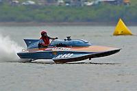 "H-202 ""Heavy Duty"" 1960's Lauterbach 7 Litre/Grand Prix hydroplane..2004 Madison Regatta, Madison, Indiana, July 4, 2004..F. Peirce Williams .photography.P.O.Box 455 Eaton, OH 45320.p: 317.358.7326  e: fpwp@mac.com."
