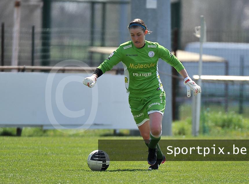 Dames Club Brugge - SV Zulte Waregem : Celine Finet.foto DAVID CATRY / Nikonpro.be
