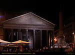 Nightlife in Piazza della Rotunda Pantheon Campus Martius Rome