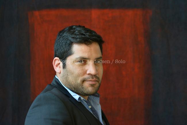 Diego Trelles Paz, Peruvian writer in 2014.