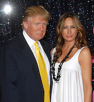 Donald Trump &amp; Melania Trump at the &quot;Sex and the City: The Movie&quot; New York Premiere - Arrivals<br />