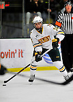 3 December 2011: University of Vermont Catamount forward Tobias Nilsson-Roos, a Junior from Malmo, Sweden, in action against the University of Maine Black Bears at Gutterson Fieldhouse in Burlington, Vermont. The Catamounts fell to the Black Bears 5-2 in the second game of their 2-game Hockey East weekend series. Mandatory Credit: Ed Wolfstein Photo