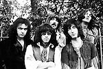 Deep Purple 1969 Ritchie Blackmore, Ian Paice, Jon Lord, Roger Glover and Ian Gillan