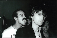 BNPS.co.uk (01202) 558833<br /> Picture: Warhol<br /> <br /> John Lennon<br /> <br /> Never-before-seen photographs of celebrities captured in informal moments by the artist Andy Warhol are to be sold. The American pop artist used photography as a medium of art towards the end of his career and had a tendency to snap spontaneous moments. Many of his subjects were showbiz friends who frequented the same nightclubs as Warhol or visited his luxurious beach house or vast 'factory'. They included the likes of John Lennon, Mick Jagger, Elizabeth Taylor, Madonna, Sting, Bruce Springstein, Lizi Minnelli, Diana Ross and Debbie Harry. At the other end of the scale, he also turned his eye to capturing domestic items such as a room service tray, hotel chandeliers and even a row of urinals.