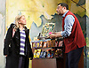 Mr Stink <br /> by David Walliams<br /> live on stage<br /> World Premier<br /> illustrated by Quentin Blake<br /> adapted &amp; directed by Matthew White<br /> press photocall<br /> at the Hackney Empire, London, Great Britain <br /> 21st June 2011<br /> <br /> Lotte Gilmore (as Chloe)<br /> Irvine Iqbal (as Raj)<br /> <br /> Photograph by Elliott Franks