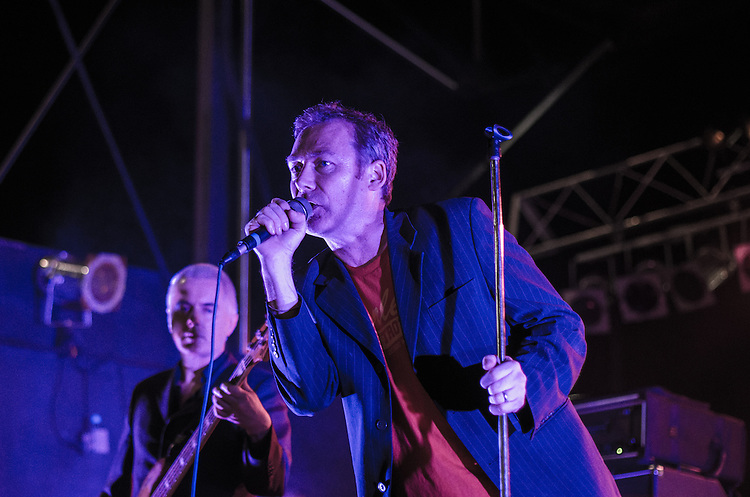 The Jesus &amp; Mary Chain headlined the first night at City Plaza during the Hopscotch Music Festival in Raleigh, NC on September 7, 2012.