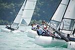 ItalySirena SL16OpenCrewITAMG142MariaGiubilei<br /> ItalySirena SL16OpenHelmITAGU1GianluigiUgolini<br /> Day3, 2015 Youth Sailing World Championships,<br /> Langkawi, Malaysia