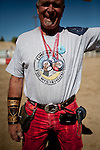 Caesar Boswell, of Salt Lake City, is passionate about camel racing, having raced in India, Africa,  and the 51st annual International Camel Races in Virginia City, Nevada  September 12, 2010. .CREDIT: Max Whittaker for The Wall Street Journal.CAMEL