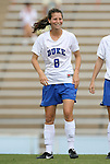 30 August 2009: Duke's Cody Newman. The Duke University Blue Devils lost 3-2 to the University of Central Florida Knights at Fetzer Field in Chapel Hill, North Carolina in an NCAA Division I Women's college soccer game.