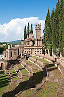 La Scarzuola, also known as the Città Buzziana or the Ideal City, is the creation of architect Tommaso Buzzi