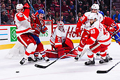 2017 NHL Hockey Montreal Canadiens v Detroit Redwings Mar 21st