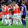 2nd Bundesliga October 27-13 Union Berlin wins vs Erzgebirge Aue,Berlin,Germany