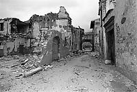 Terremoto del Friuli del Maggio 1976.<br /> Friuli earthquake in May 1976.