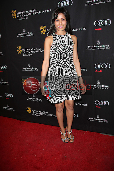 Freida Pinto<br /> at the BAFTA Los Angeles 2013 Awards Season Tea Party, Four Seasons Hotel, Los Angeles, CA 01-12-13<br /> David Edwards/DailyCeleb.com 818-249-4998