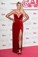 LONDON, UK. November 24, 2016: Chloe Sims at the 2016 ITV Gala at the London Palladium Theatre, London.<br /> Picture: Steve Vas/Featureflash/SilverHub 0208 004 5359/ 07711 972644 Editors@silverhubmedia.com