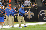New York Giants coach Tom Coughlin at the Superdome in New Orleans, La. on Monday, November 28, 2011. New Orleans won 49-24 over New York Giants.