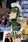 23 March 2014: Michigan State Spartan. The Michigan State University Spartans played the Hampton University Lady Pirates in an NCAA Division I Women's Basketball Tournament First Round game at Cameron Indoor Stadium in Durham, North Carolina. Michigan State won the game 91-61.