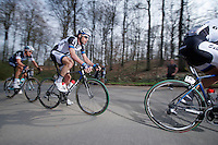 Roy Curvers (NLD/Giant-Shimano) up La Houppe (max 10%) with Niki Terpstra (NLD/OPQS)<br /> <br /> 57th E3 Harelbeke 2014