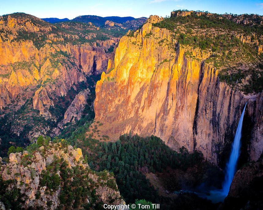 Basaseachic Falls, Basaseachic Falls National Park, Chihuahua, Mexico   Sierra Madre Mountains Copper Canyon area