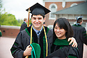 Jesse Victor, left, Tiffany Kuo. Commencement class of 2013.
