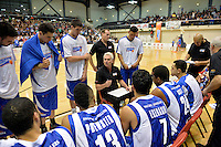 Action from the NBL - Wellington Saints v Nelson Giants at TSB Bank Arena, Queens Wharf, Wellington, New Zealand on Friday  2 May 2014. <br /> Photo by Masanori Udagawa. <br /> www.photowellington.photoshelter.com.
