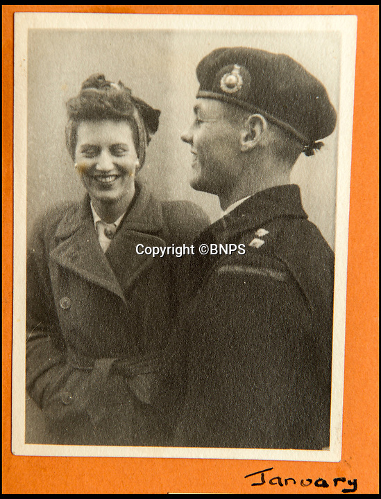 BNPS.co.uk (01202 558833)<br /> Pic: C&amp;T/BNPS<br /> <br /> Brenda Hart in January 1944.<br /> <br /> A humble secretary's remarkable first hand archive of some of the most momentous events of WW2 has come to light.<br /> <br /> 'Miss Brenda Hart' worked in the Cabinet Office during the last two years of the war, travelling across the globe with the Allied leaders as the conflict drew to a close.<br /> <br /> Her unique collection of photographs and momentoes of Churchill, Stalin and other prominent Second World War figures have been unearthed after more than 70 years.<br /> <br /> The scrapbooks, which also feature Lord Mountbatten and Vyacheslav Molotov, were collated by Brenda Hart who, in her role as secretary to Churchill's chief of staff General Hastings Ismay, enjoyed incredible access to him and other world leaders.<br /> <br /> She also wrote a series of letters which give fascinating insights, including watching Churchill and Stalin shaking hands at the Bolshoi ballet in 1944, being behind Churchill as he walked out on to the balcony at the Ministry of Health to to wave to some 50,000 Londoners on VE day and even visiting Hitler's bombed out Reich Chancellery at the end of the war.<br /> <br /> This unique first hand account, captured in a collection of photos, passes, documents and letters are being sold at C&amp;T auctioneers on15th March with a &pound;1200 estimate.