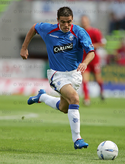 Nacho Novo, Rangers.stock season 2004-2005.pic willie vass
