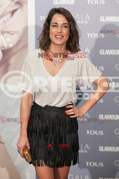 Ana Bono poses for the photographers during TOUS presentation in Madrid, Spain. January 21, 2015. (ALTERPHOTOS/Victor Blanco) /NortePhoto<br />