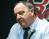 Dick Umile (UNH - Head Coach) - The Boston College Eagles defeated the visiting University of New Hampshire Wildcats 5-2 on Friday, January 11, 2013, at Kelley Rink in Conte Forum in Chestnut Hill, Massachusetts.