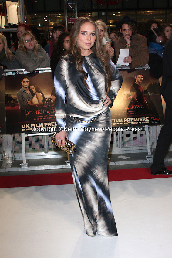 London - UK Premiere of 'Twilight Breaking Dawn Part One' at Westfield Stratford City, London - November 16th 2011..Photo by Keith Mayhew.