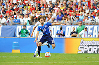 Nashville, Tenn. - Friday, July 3, 2015: The US Men's National team defeat Guatemala 4-0 in an international friendly match at Nissan stadium.