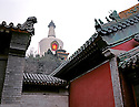 AA01226-04...CHINA - The White Dagoba at Beihai Park in Beijing