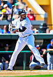 5 March 2009: Detroit Tigers' designated hitter Gary Sheffield in action during a Spring Training game against the Washington Nationals at Joker Marchant Stadium in Lakeland, Florida. The Tigers defeated the visiting Nationals 10-2 in the Grapefruit League matchup. Mandatory Photo Credit: Ed Wolfstein Photo