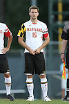 13 September 2013: Maryland's Patrick Mullins. The University of North Carolina Tar Heels hosted the University of Maryland Terrapins at Fetzer Field in Chapel Hill, NC in a 2013 NCAA Division I Men's Soccer match. The game ended in a 2-2 tie after two overtimes.