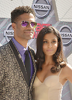 LOS ANGELES, CA - JUNE 26: Eric Benet, Manuela Testolini at the 2016 BET Awards at the Microsoft Theater on June 26, 2016 in Los Angeles, California. Credit: Koi Sojer/MediaPunch