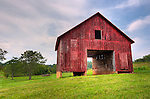 An old barn on the grounds of Hume Vineyards.  HDR Image.