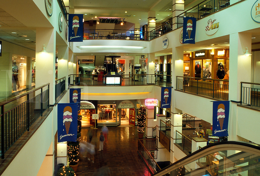 Rochester, MN, Minnesota, Interior of Galleria Shopping Mall in downtown Rochester.