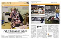 Helsingin Sanomat (leading Finnish daily) on nazi warcrimes, Slovakia, March 2016<br /> Photos: Martin Fejer