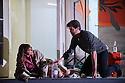 London, UK. 14.10.2015. English National Opera presents, in a co-production with Dutch National Opera, Amsterdam, Puccini's LA BOHEME, at the London Coliseum. Picture shows: Corinne Winters (Mimi), Zach Borichevsky (Rodolfo).  Photograph © Jane Hobson.
