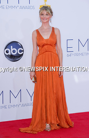 """LYNSEY PULSIPHER - 64TH PRIME TIME EMMY AWARDS.Nokia Theatre Live, Los Angelees_23/09/2012.Mandatory Credit Photo: ©Dias/NEWSPIX INTERNATIONAL..**ALL FEES PAYABLE TO: """"NEWSPIX INTERNATIONAL""""**..IMMEDIATE CONFIRMATION OF USAGE REQUIRED:.Newspix International, 31 Chinnery Hill, Bishop's Stortford, ENGLAND CM23 3PS.Tel:+441279 324672  ; Fax: +441279656877.Mobile:  07775681153.e-mail: info@newspixinternational.co.uk"""