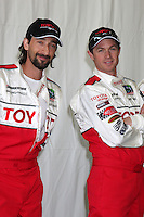 Adrien Brody & Eric Close at  the 33rd Annual Toyota Pro/Celeb Race Press Day at the Grand Prix track in Long Beach, CA on April 7, 2009.©2009 Kathy Hutchins / Hutchins Photo....                .