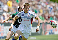 31 May 2009: Chris Wyles of USA tries to catch a loose ball during the Rugby game against Ireland at Buck Shaw Stadium in Santa Clara, California.   Ireland defeated USA, 27-10.