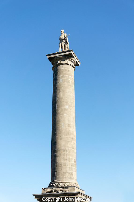 Nelson's Column on Place Jacques Cartier in Old Montreal, Quebec, Canada