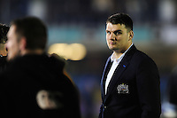 David Sisi of Bath Rugby looks on after the match. European Rugby Challenge Cup match, between Bath Rugby and Bristol Rugby on October 20, 2016 at the Recreation Ground in Bath, England. Photo by: Patrick Khachfe / Onside Images