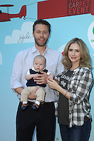 CULVER CITY, CA - SEPTEMBER 24: Ashley Jones, Noah Nelson, Hayden Joel Henricks attends the Step2 & Favored.by Present The 5th Annual Red Carpet Safety Awareness Event at Sony Pictures Studios on September 24, 2016 in Culver City, California. (Credit: Parisa Afsahi/MediaPunch).