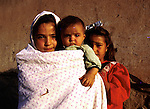 Unidentified children on July 24, 1996 in Herat, Afghanistan. The Taliban took over most of Afghanistan in 1996, and have forced the people to live under strict muslim sharia law. Girls are not allowed to attend schools and people are forced to pray in mosks several times a day..(Photo: Per-Anders Pettersson/Liaison Agency)
